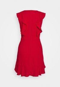 BCBGMAXAZRIA - EVE SHORT DRESS - Vestito elegante - burnt red - 1