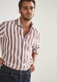 Massimo Dutti - Shirt - bordeaux - 2