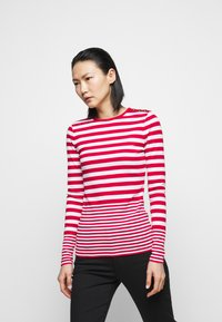 Lauren Ralph Lauren - Long sleeved top - white/lipstick red - 0