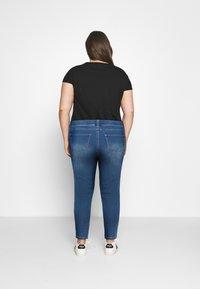 CAPSULE by Simply Be - AMBER - Skinny džíny - mid blue - 2
