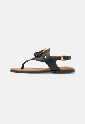 HANA - T-bar sandals - black