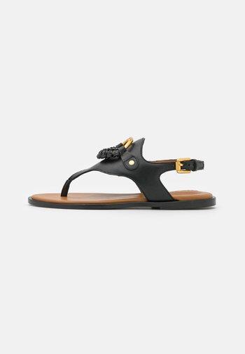 HANA - T-bar sandals - black