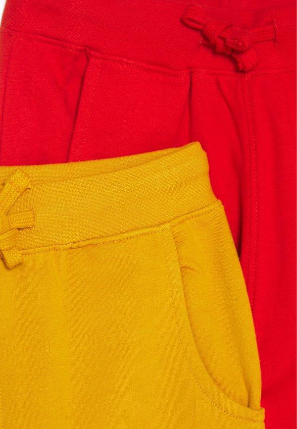 Friboo 5 PACK - Spodnie treningowe - red/light grey/ochre/czerwony Odzież Męska JGEN