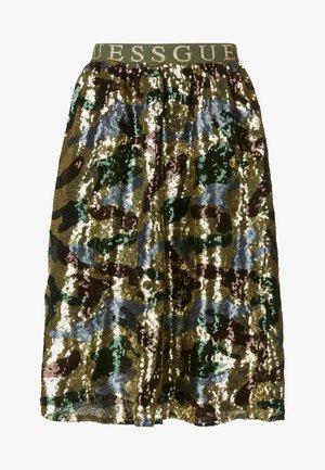 A-line skirt - gemustert multicolor