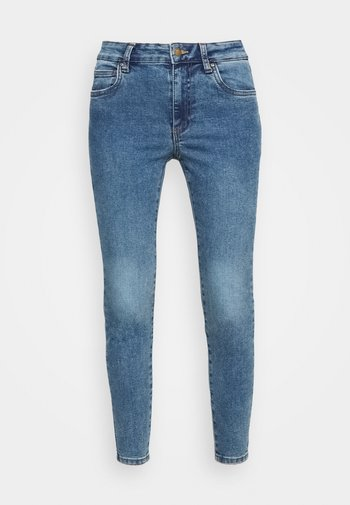 MID RISE CROPPED - Jeans Skinny Fit - lucky blue