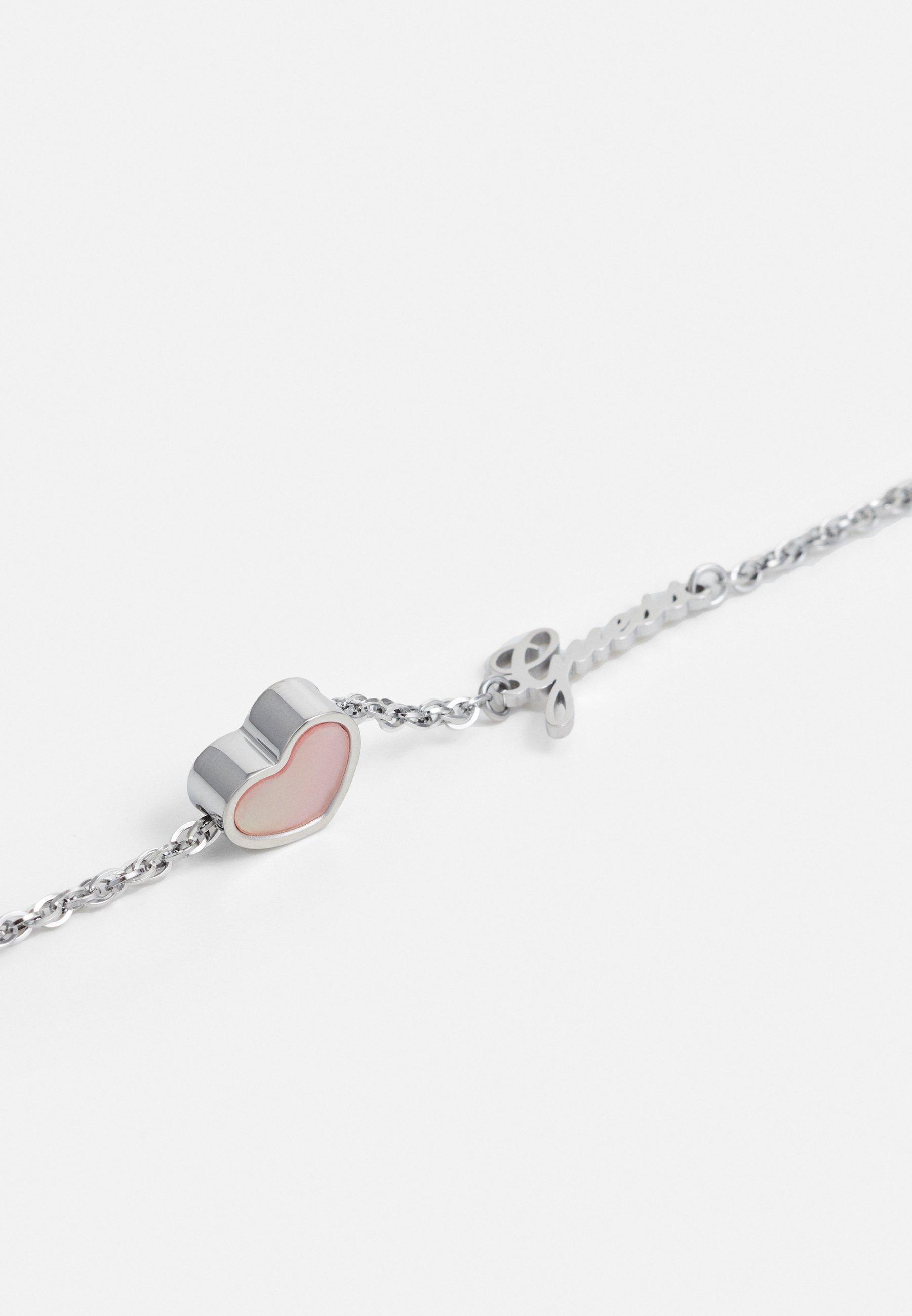 Guess HEART - Smykke - silver-coloured/sølv EU5wbVyIYfgp8at
