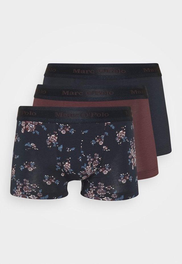 3 PACK - Pants - burgund