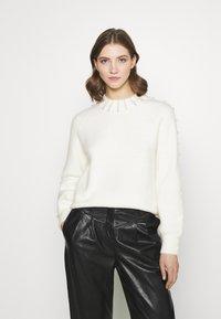Fashion Union - PEARLY - Jumper - cream - 0