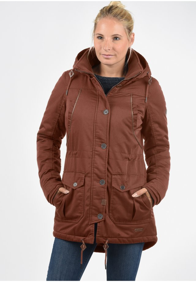PARKA ANNABELLE - Cappotto invernale - fox brown