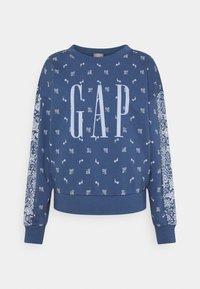 GAP - Sweatshirt - blue bandana - 0