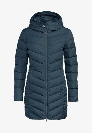 Winter coat - steelblue