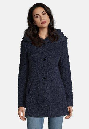 MIT KAPUZE - Classic coat - middle blue melange