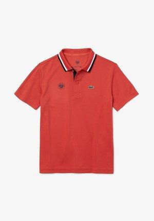 Polo - rot / navy blau / weiß