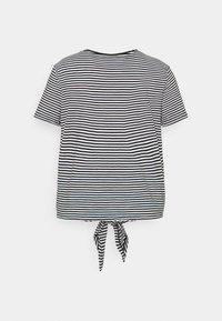 Lauren Ralph Lauren Woman - GENARO SHORT SLEEVE - Basic T-shirt - black/white - 6