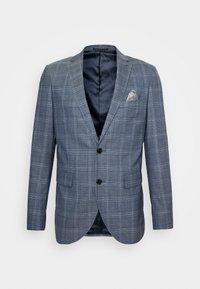 Matinique - CHECK STRETCH - Suit - dust blue - 13