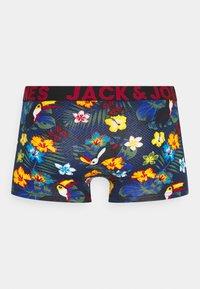 Jack & Jones - JACPRINTED TRUNKS 5 PACK - Underkläder - surf the web/black /navy blazer - 6