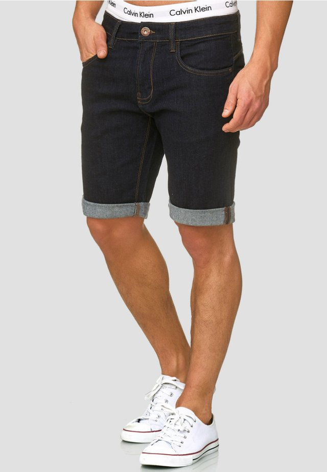 CUBA CADEN - Shorts di jeans - dark-blue denim