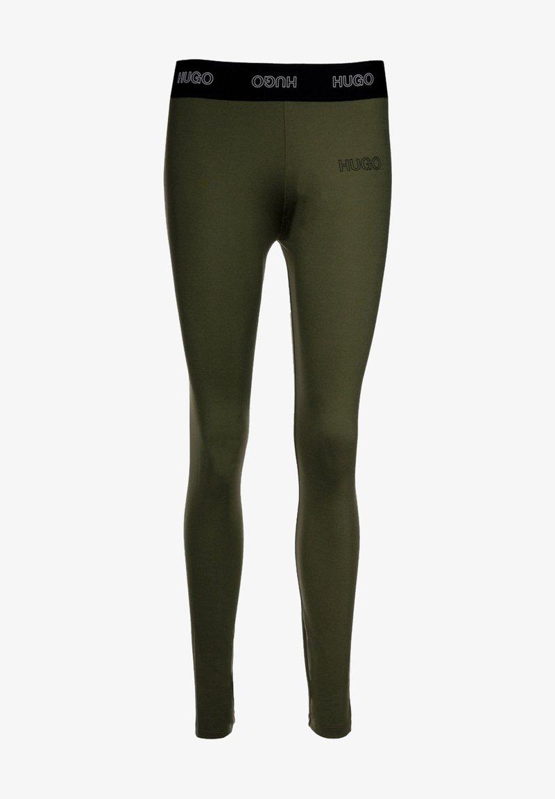 HUGO - Leggings - Trousers - green