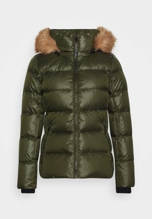 ESSENTIAL JACKET - Down jacket - dark olive