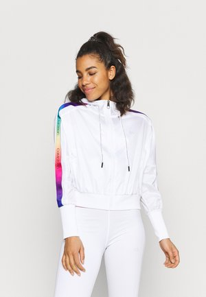 HOODED JACKET - Sportovní bunda - bright white