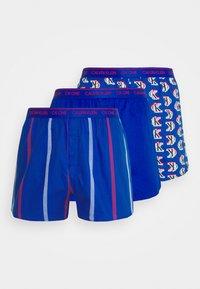Calvin Klein Underwear - SLIM 3 PACK - Boxer shorts - blue - 5