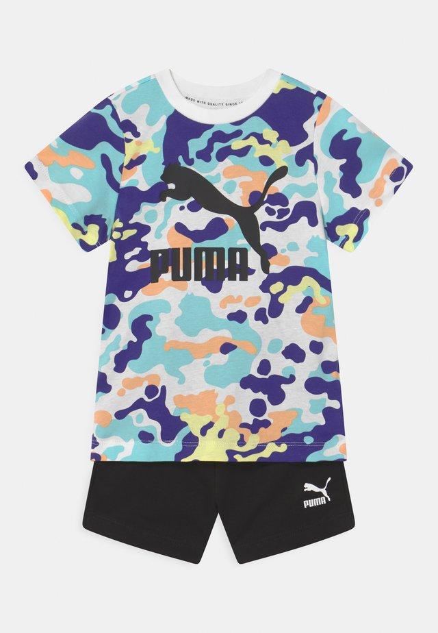 MINICATS CLASSICS SET UNISEX - T-shirt con stampa - puma black
