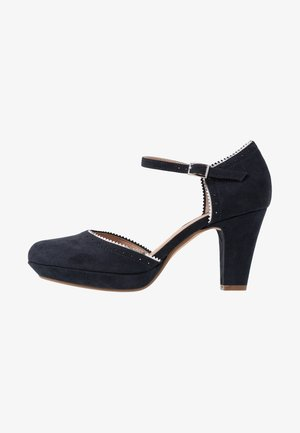 Klassiske pumps - dark blue