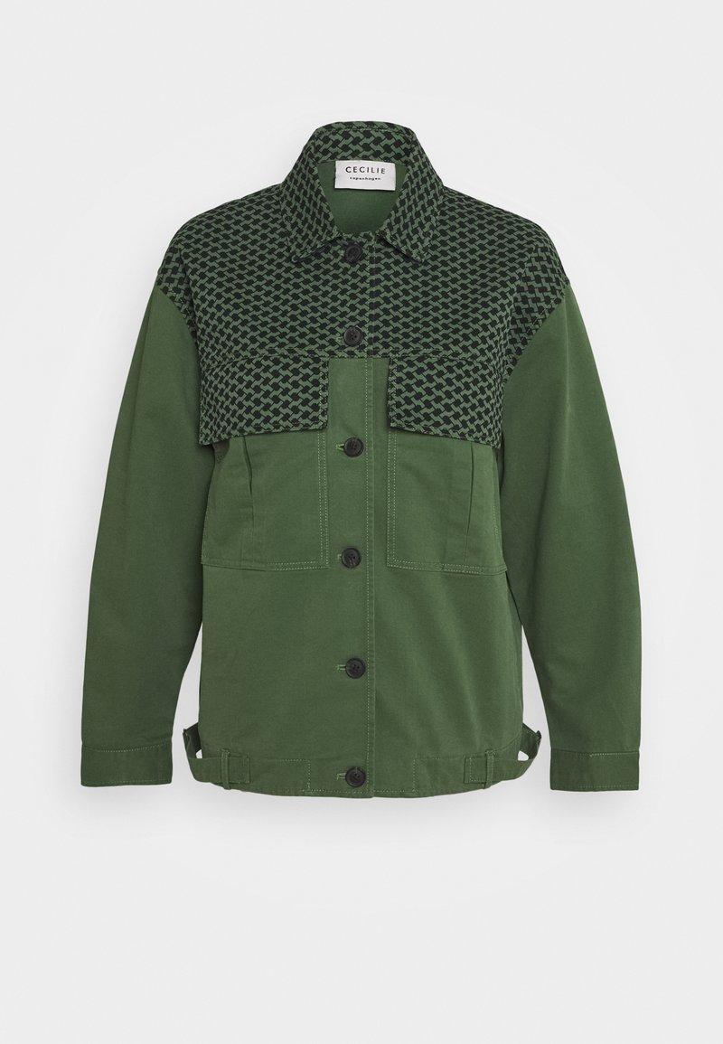 CECILIE copenhagen - MEGAN - Summer jacket - army