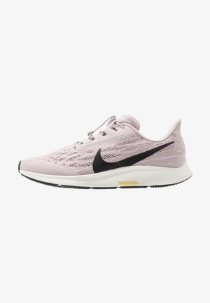 AIR ZOOM PEGASUS 36 FLYEASE - Neutral running shoes - platinum violet/black/plum chalk/sail/infinite gold/metallic gold