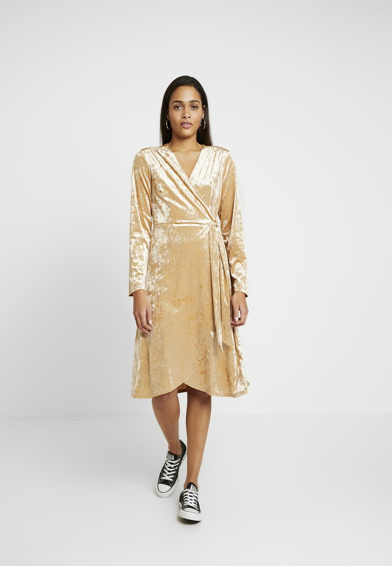 Monki - TUVA DRESS - Day dress - beige