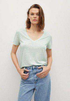 LINITO - T-shirt basique - pastelgroen