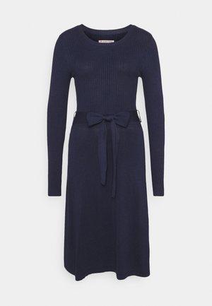 Vestido de punto - dark blue