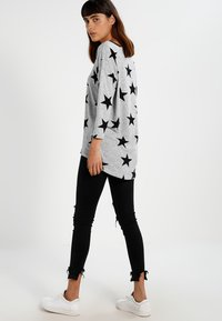 ONLY - ONLELCOS - Jumper - light grey melange/black - 2