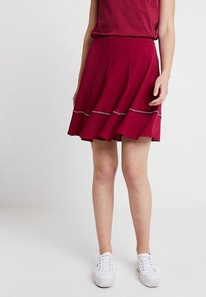 FENYA SKIRT - Áčková sukně - purple