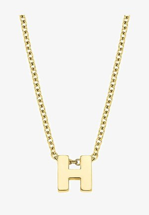 LETTER H - Necklace - silber