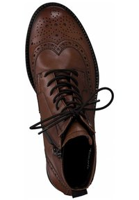 Tamaris - Lace-up ankle boots - brandy 306 - 1