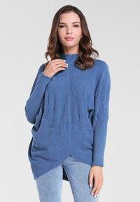Apart - Pullover - jeansblau - 0