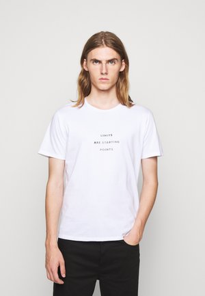 UNISEX MENTA - Print T-shirt - white