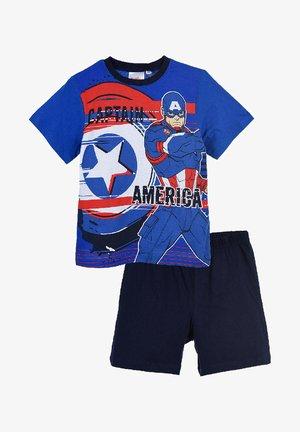 CAPTAIN AMERICA KURZARM SCHLAFANZUG - Pyjamas - mehrfarbig