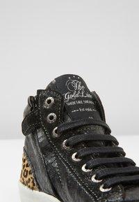 Shoesme - VULCAN - High-top trainers - black - 2
