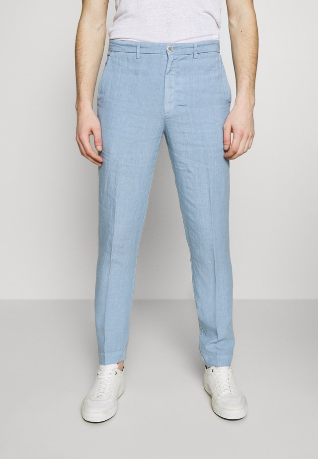 TROUSERS - Trousers - blue colony