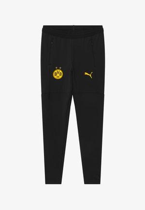 BVB BORUSSIA DORTMUND TRAINING - Klubtrøjer - black/cyber yellow