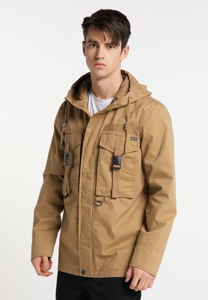 Outdoor jacket - dark sand
