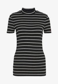 HUGO - DAROLINE - T-shirt z nadrukiem - black - 3