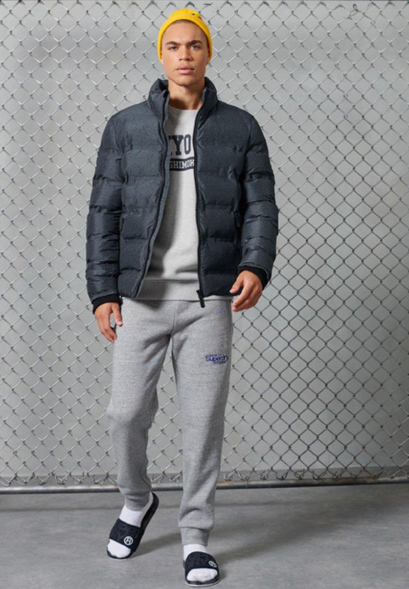 Superdry - CITY COLLEGE - Sweatshirt - grey marl