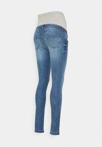MAMALICIOUS - MLPAX HIGH BACK - Jeans Skinny Fit - medium blue denim - 1