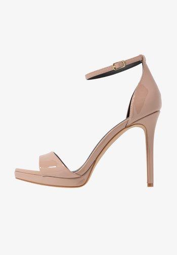 FLASHYY - High heeled sandals - fawn