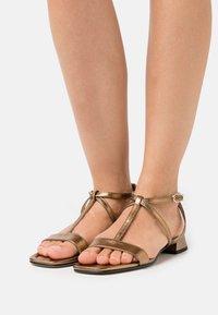 Högl - LIBELLA - Sandals - bronce metallic - 0