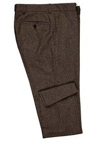 Carl Gross - CG SHIVER - Suit trousers - dunkelbraun - 3
