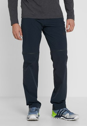 RUNBOLD ZIP OFF - Outdoor trousers - black